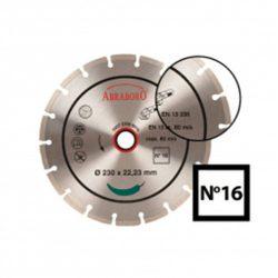Gyémánttárcsa No16    115 x 22,23 mm    2,00 mm