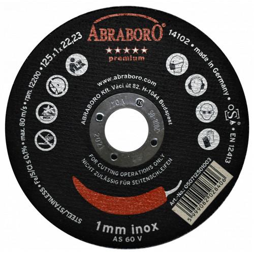 ABRABORO CHILI PREMIUM fémvágó korong, inox T41