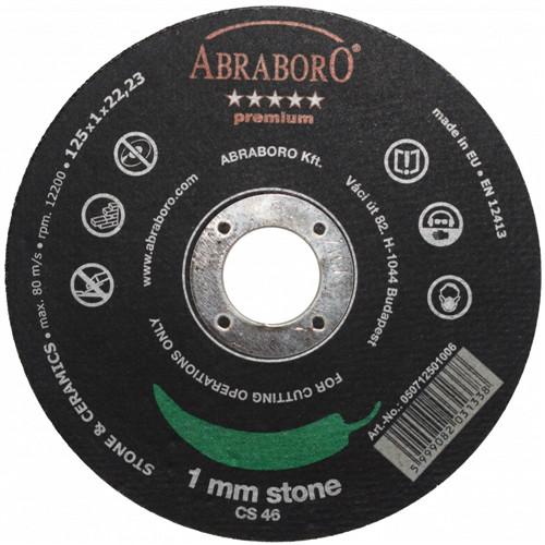 ABRABORO CHILI PREMIUM kővágó korong