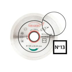 Gyémánttárcsa No13   125mm x 22,2mm   1,80mm