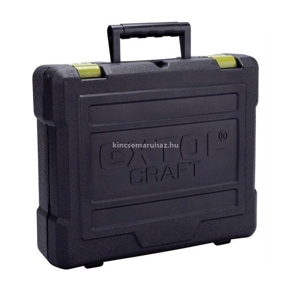 Extol Craft akkus fúró csavarozó, 18V, Li-ion, kofferban