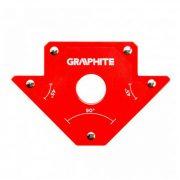 Hegesztő mágnes Graphite 122x190x25mm