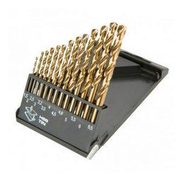 HSS csigafúró készlet 1.5 - 6.5 mm / 13 db
