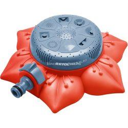 Extol premium locsoló, virág alakú talapzat, 8 funkciós, műanyag; kuplung csatlakozóval