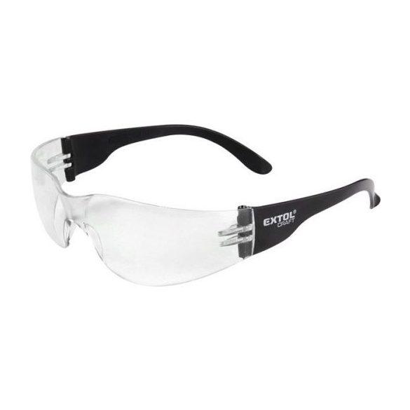 védőszemüveg, víztiszta, polikarbonát