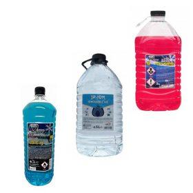 Hűtőfolyadék, desztillált víz, szélvédőmosó folyadék